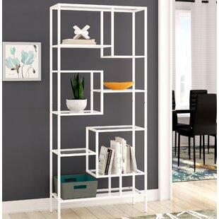 Hickory Etagere Bookcase Ebern Designs