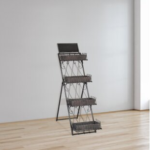 Indie Leaning Ladder Bookcase by 17 Stories Sale