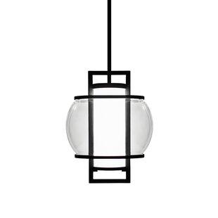 Modern Forms Lucid 1-Light LED Geometric Pendant