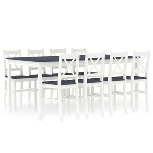 Zowie Dinning Set With 19 Chairs By Mercury Row