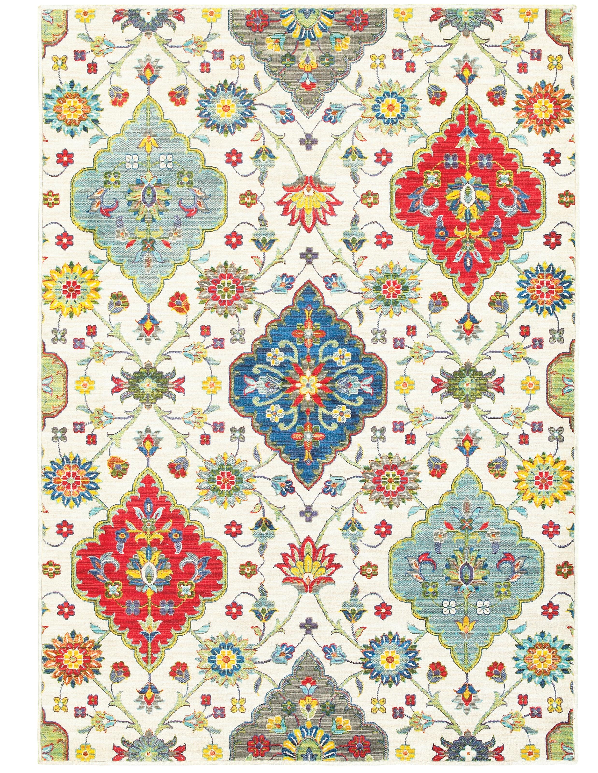Bungalow Rose Mansi Multicolor Rug Reviews Wayfair