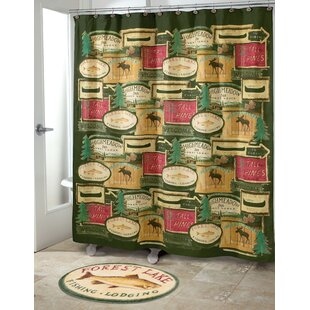 Rather Be Fishing Single Shower Curtain