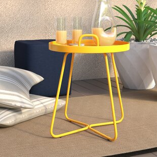 Baldwin Aluminum Side Table