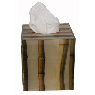 Oggetti Bamboo Tissue Box Cover