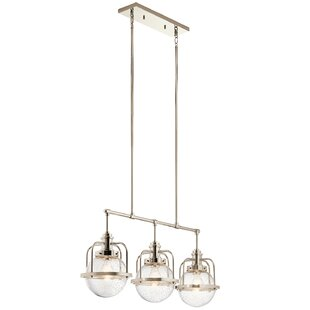 Latitude Run Hotwells 3-Light Kitchen Island Pendant