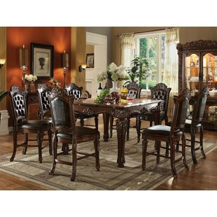 Gadd 9 Piece Pub Table Set Astoria Grand