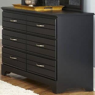 Online Reviews Della 6 Drawer Double Dresser by August Grove