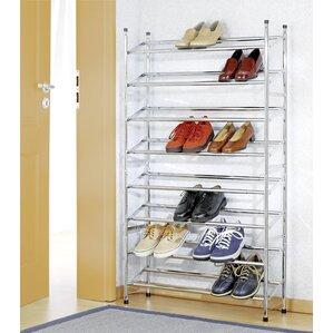 40 pair shoe rack