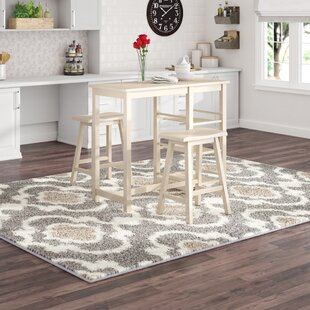 Porras 3 Piece Counter Height Breakfast Nook Dining Set Winston Porter