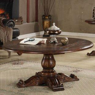 Eastern Legends Burgundy Coffee Table