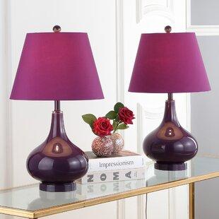 Bedroom Lamps Set Of 2   Wayfair