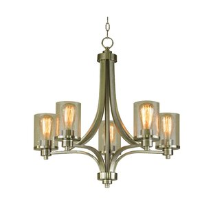 Whitfield Lighting Iris 5-Light Shaded Chandelier