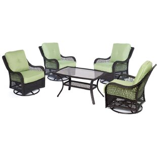 Innsbrook 5 Piece Conversation Seat with Cushions