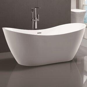 small freestanding soaking tub. 71\ small freestanding soaking tub o