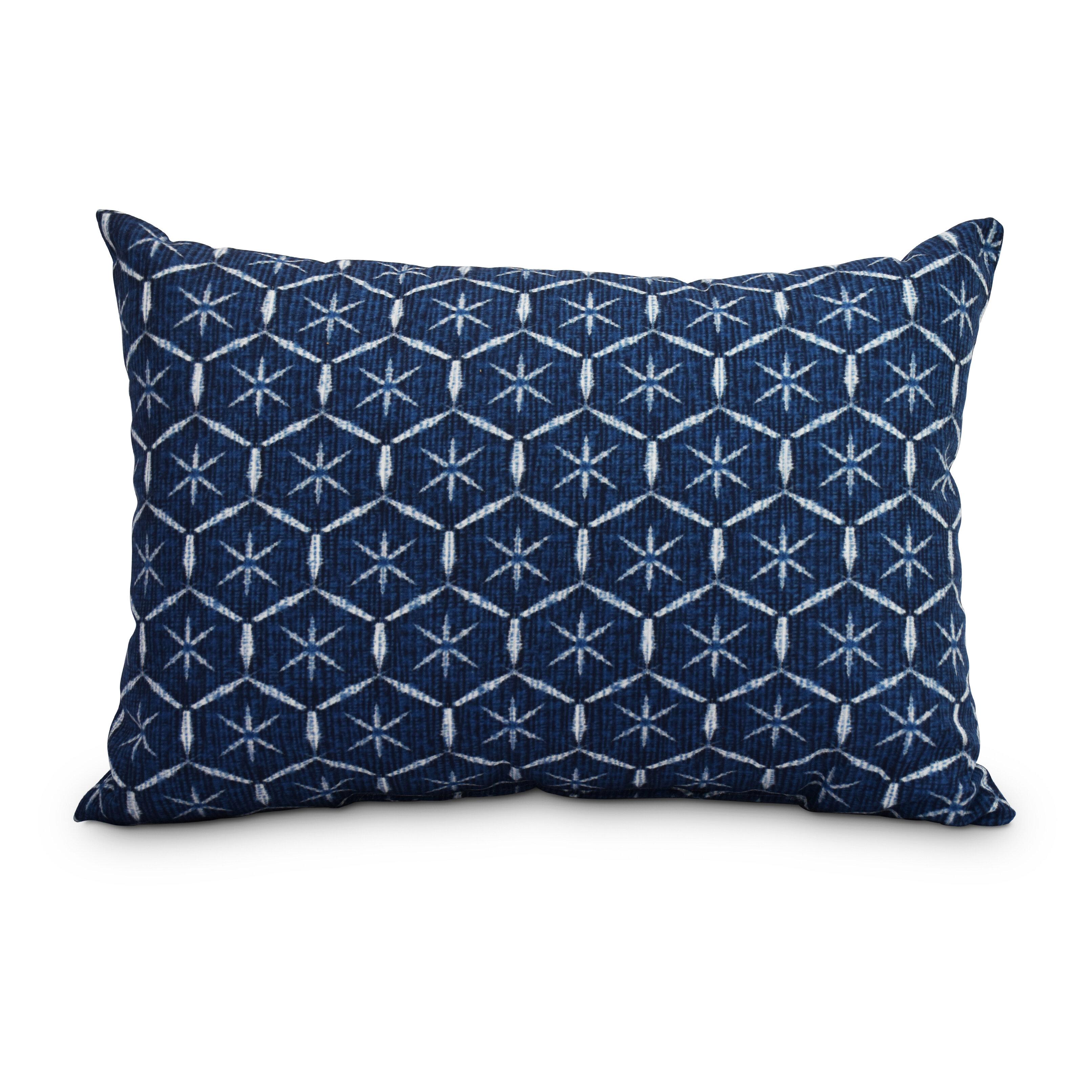 Wrought Studio Pankratz Tufted Abstract Decorative Indoor Outdoor Lumbar Pillow Wayfair