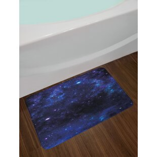 Abstract Astronomy Sky Bath Rug
