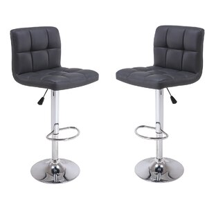 Adjustable Height Bar Stool (Set of 2) by..