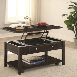 Alcott Hill Marisa Modern Lift Top Wooden Coffee Table with Storage