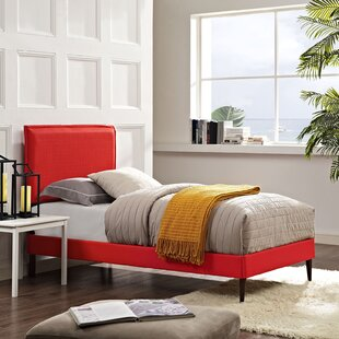 Winsett Upholstered Platform Bed by Turn on the Brights
