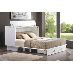 Kim Queen Storage Murphy Bed with Mattress by Brayden Studio