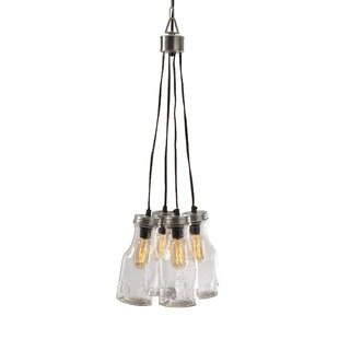 Cormack 4-Light Pendant by Woodland Imports