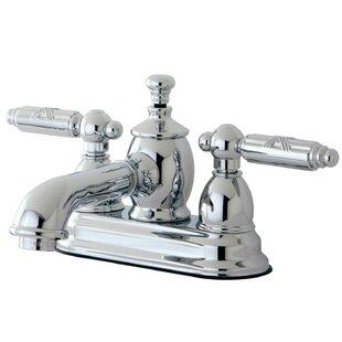 Kingston Brass Georgian Centerset Bathroom Faucet with Drain Assembly