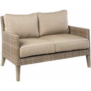 Gracie Oaks Nishant Loveseat with Cushions