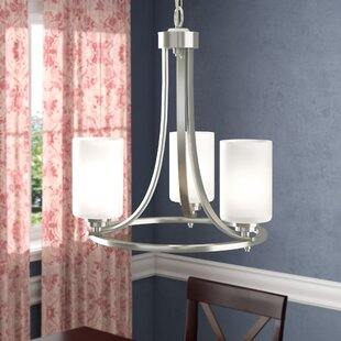 Castano 3-Light Shaded Chandelier by Andover Mills
