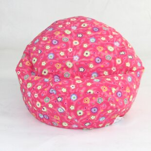 Floral Bean Bag Chair by Zoomie Kids