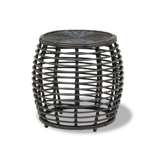 Sunset West Venice Round Wicker Side Table