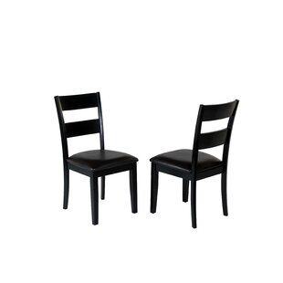 August Grove Agustine Solid Wood Dining Chair (Set of 2)