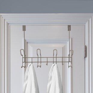 """9.25/"""" x 4/"""" x 4.5/"""" Size Vanderbilt Home Over the Cabinet Door Dual Towel Bar"""