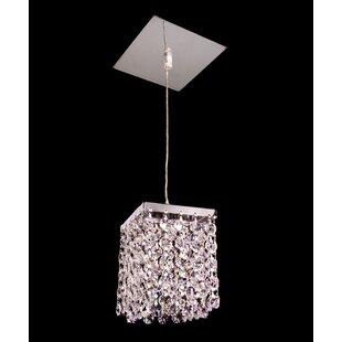 Classic Lighting Bedazzle 1-Light Crystal Pendant
