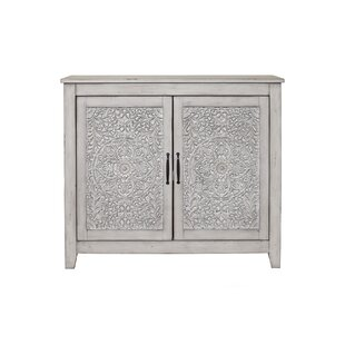 Odessa 2 Door Accent Cabinet by Bungalow Rose