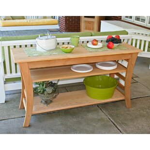Cedar Furniture and Accessories Solid Wood Buffet & Console Table by Creekvine Designs