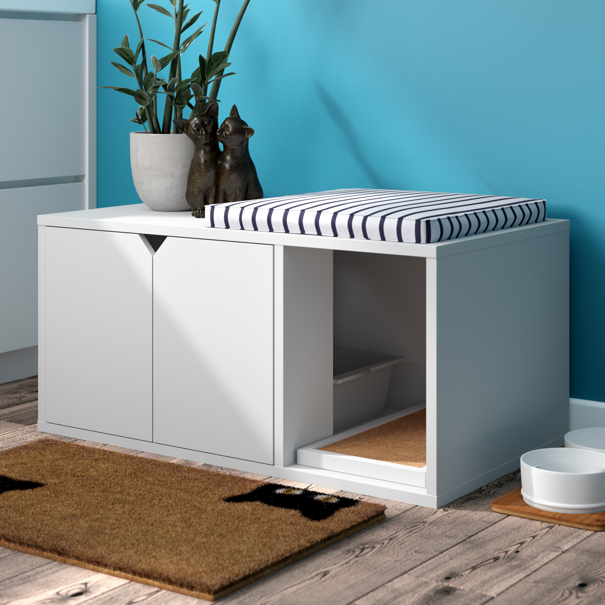 Grinnell Eco Litter Box Enclosure