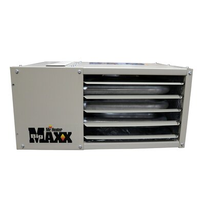 Big Maxx Garage Unit Natural Gas/Propane Forced Air Ceiling Mounted Heater Mr. Heater