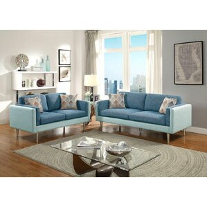 Upper 2 Piece Living Room Set by George Oliver
