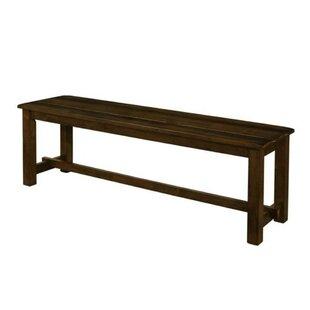 Vanscoy Pastoral Sylvan Dining Side Bench by Millwood Pines