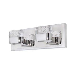 Orren Ellis Pollux 2-Light Bath Bar