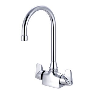 Just Manufacturing Double Handle Kitchen Faucet
