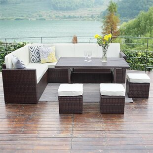 Maryann 7 Piece Sectional Seating Group with Cushions