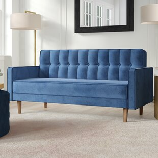 Compare Tackett Convertible Loveseat by Everly Quinn Reviews (2019) & Buyer's Guide