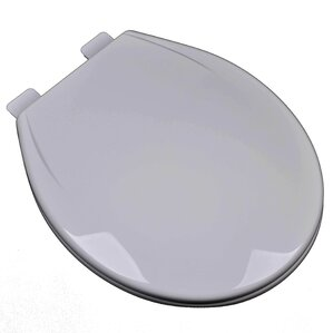 soft close grey toilet seat. Slow Close Plastic Contemporary Round Toilet Seat Grey Seats You ll Love  Wayfair