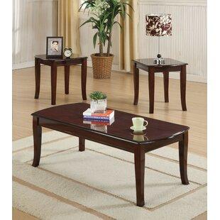Alcott Hill Cheyanne 3 Piece Coffee Table Set