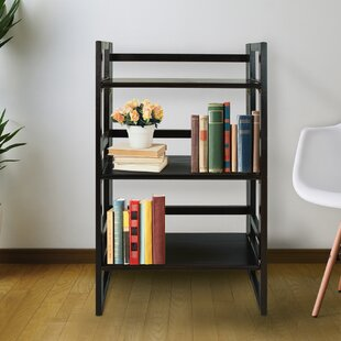Andover Mills Boris Student Folding Etagere Bookcase