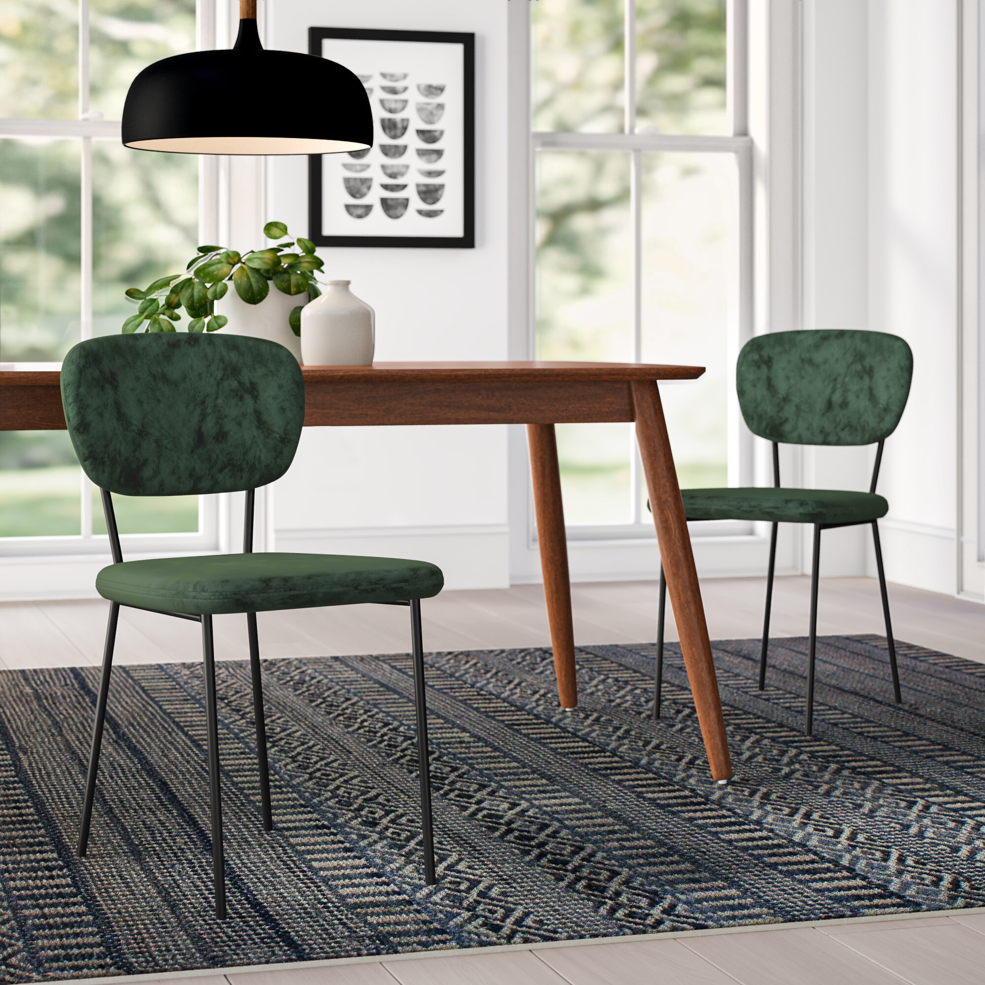 Blair Upholstered Dining Chair Reviews Allmodern