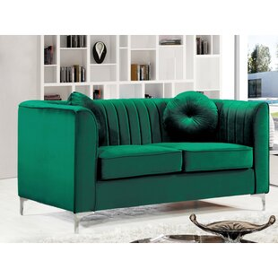 Herbert Chesterfield Loveseat