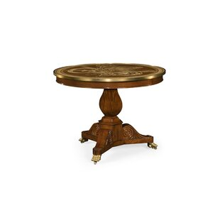Churchman Marquetry Right Hall Tilted Solid Wood Dining Table