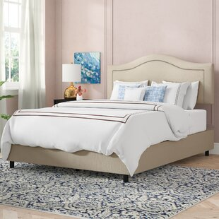 Alcinous Upholstered Panel Bed by Willa Arlo Interiors